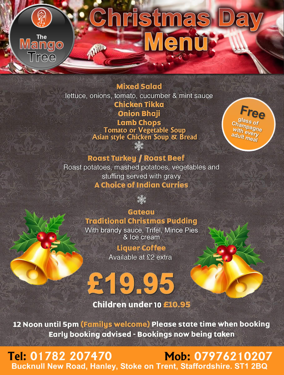 Christmas at mango tree